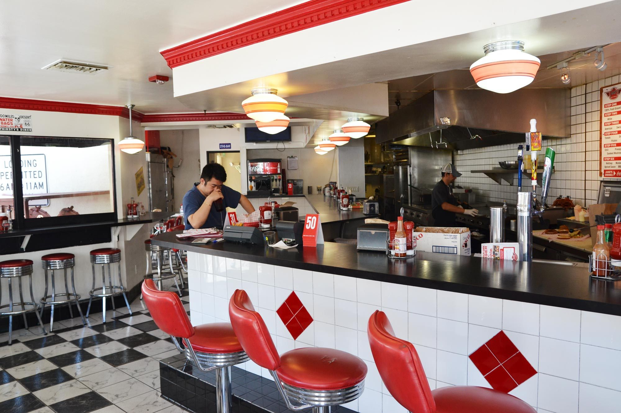 retro diner interior - Google Search | Furniture Design | Pinterest