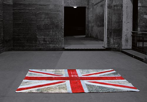 Uk Flag Accent Interior Style