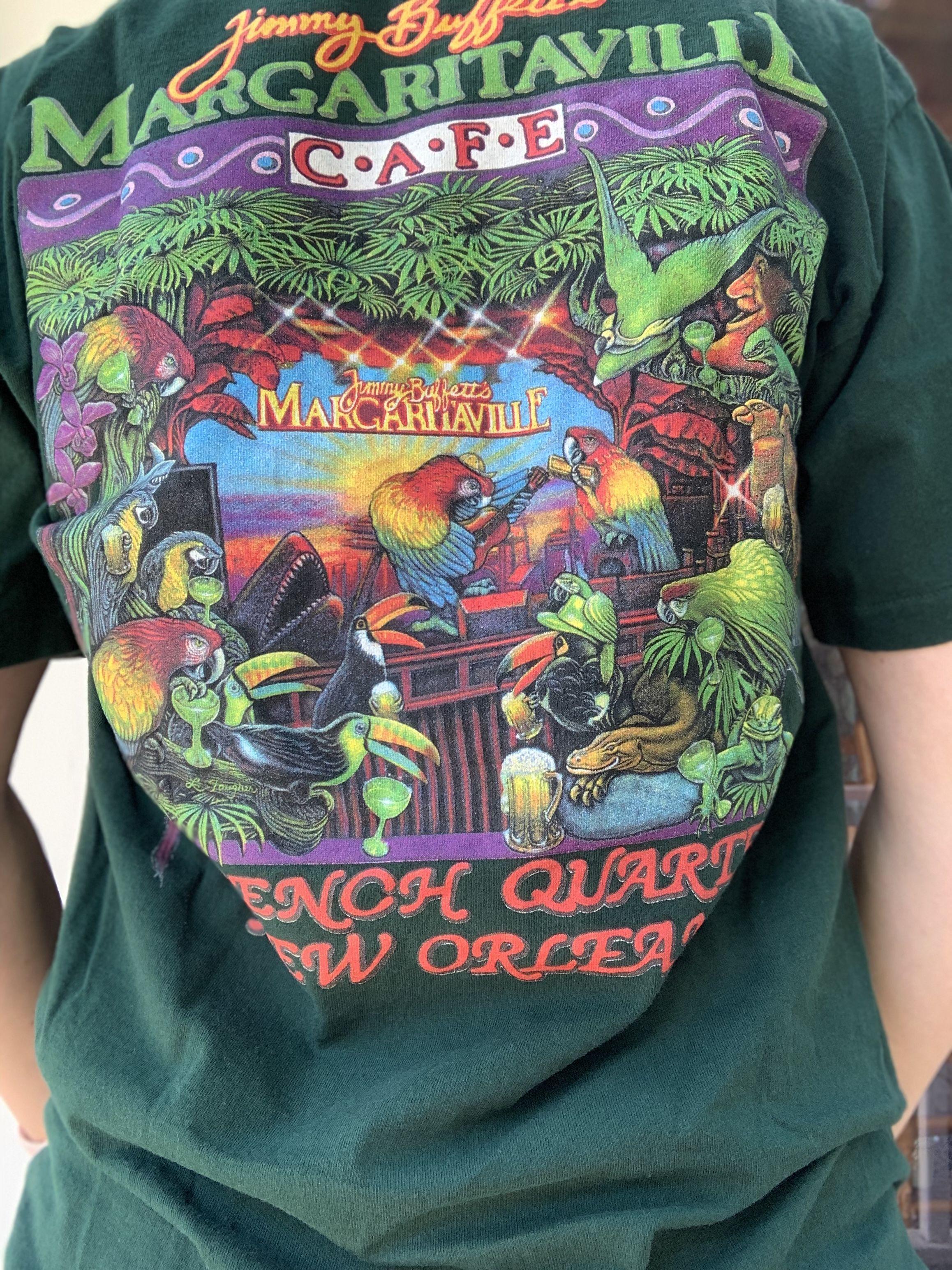Sold Vintage Jimmy Buffett S Margaritaville T Shirt Vintage Clothing Men Vintage Outfits Clothes [ 3088 x 2316 Pixel ]