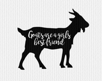 Download goats are a girls best friend svg dxf file instant ...