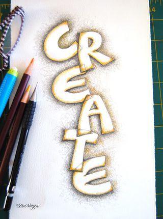 Hand Lettering Journaling   Art Journal - Hand Lettering Ideas/Tutorials on Pinterest (Cinnamon ...