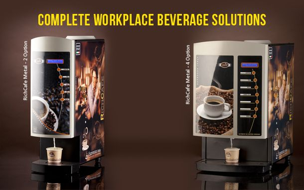 Richcafe Is A Known Coffee Vending Machine Manufacturers At South India Tea Premix Powders