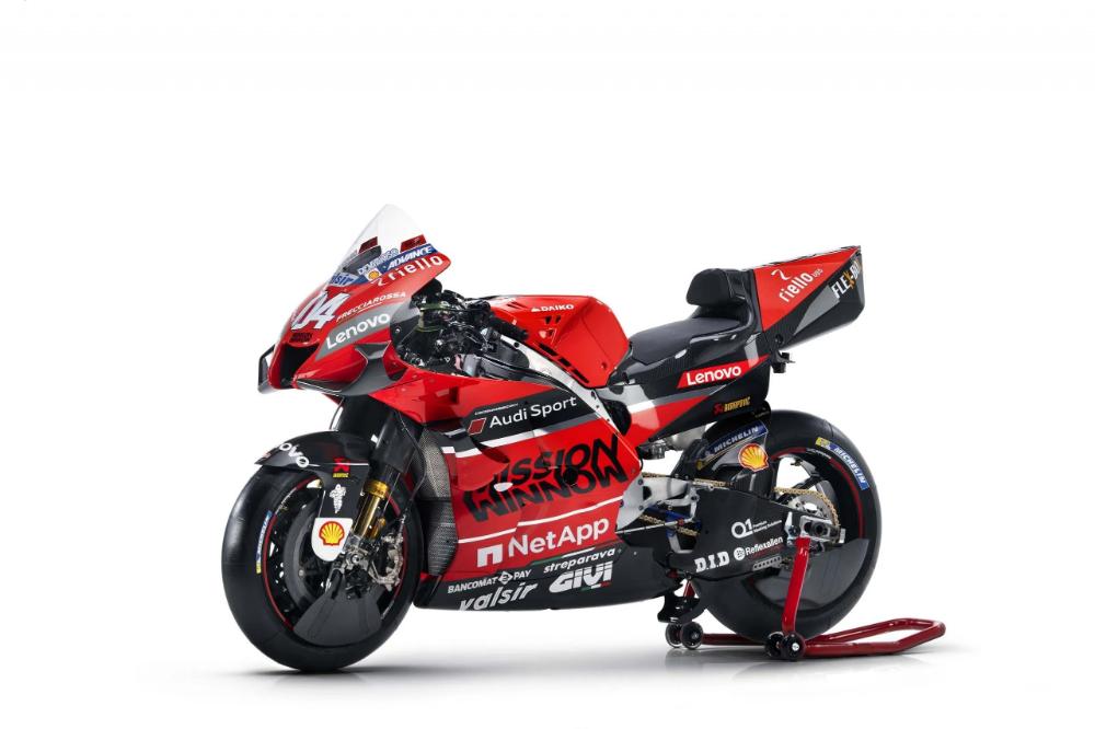 2020 Ducati Desmosedici Gp20 Livery Revealed In Italy In 2020 Motogp Ducati Racing Bikes