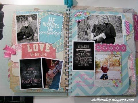 Heidi Swapp Memory Files Album - Part 3