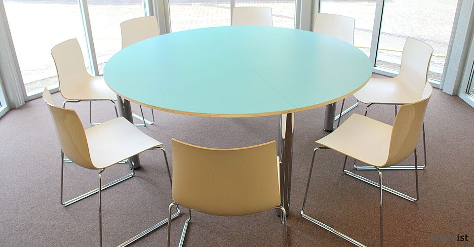Extraordinary large round meeting room tables dining for Round table for office