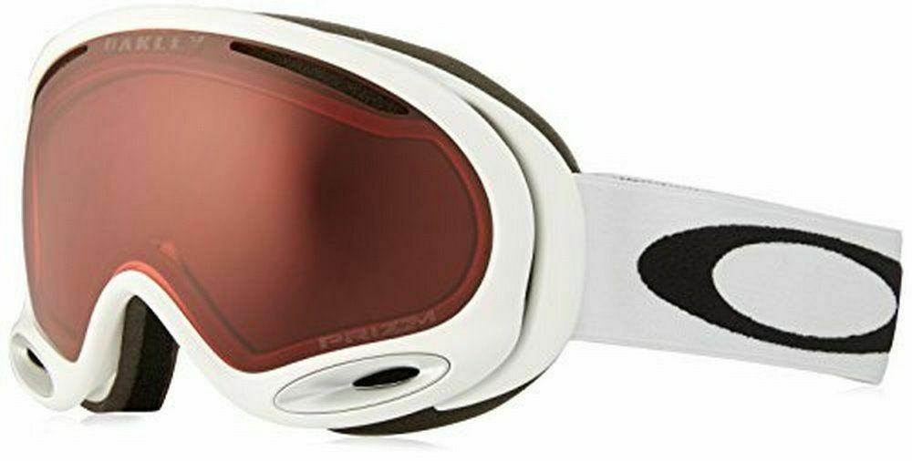 Ebay Sponsored Oakley A Frame 2 0 Ski Goggles Polished White Prizm Rose Ski Goggles Best Ski Goggles Goggles