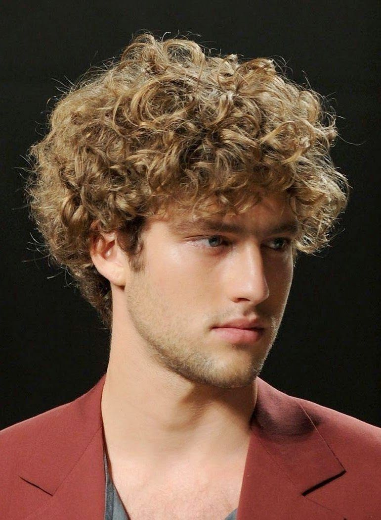 Image Result For Very Short Curly Brown Hair Boy Curly Hair Men