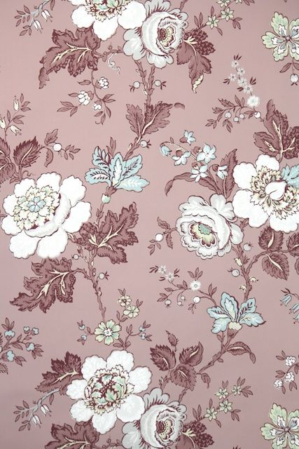 Vintage Wallpaper Flowers Wallpapers Vintage Floral Design