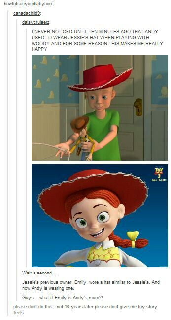 Pixar facts movies childhood tumblr