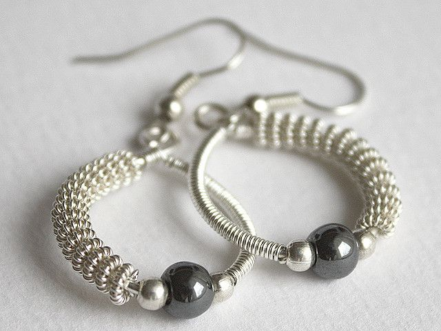 Twisted hoops | Wordpress, Wire wrapping and Wire earrings