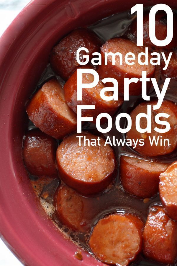 10 Party Food Ideas That Are Perfect For Game Day | The Unlikely Hostess