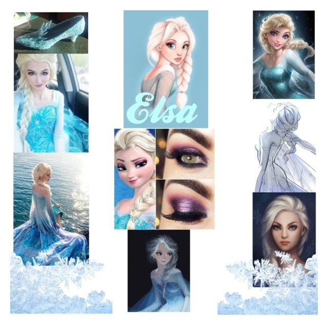 """""""Elsa~Frozen~Classic"""" by marcykxx ❤ liked on Polyvore featuring art"""