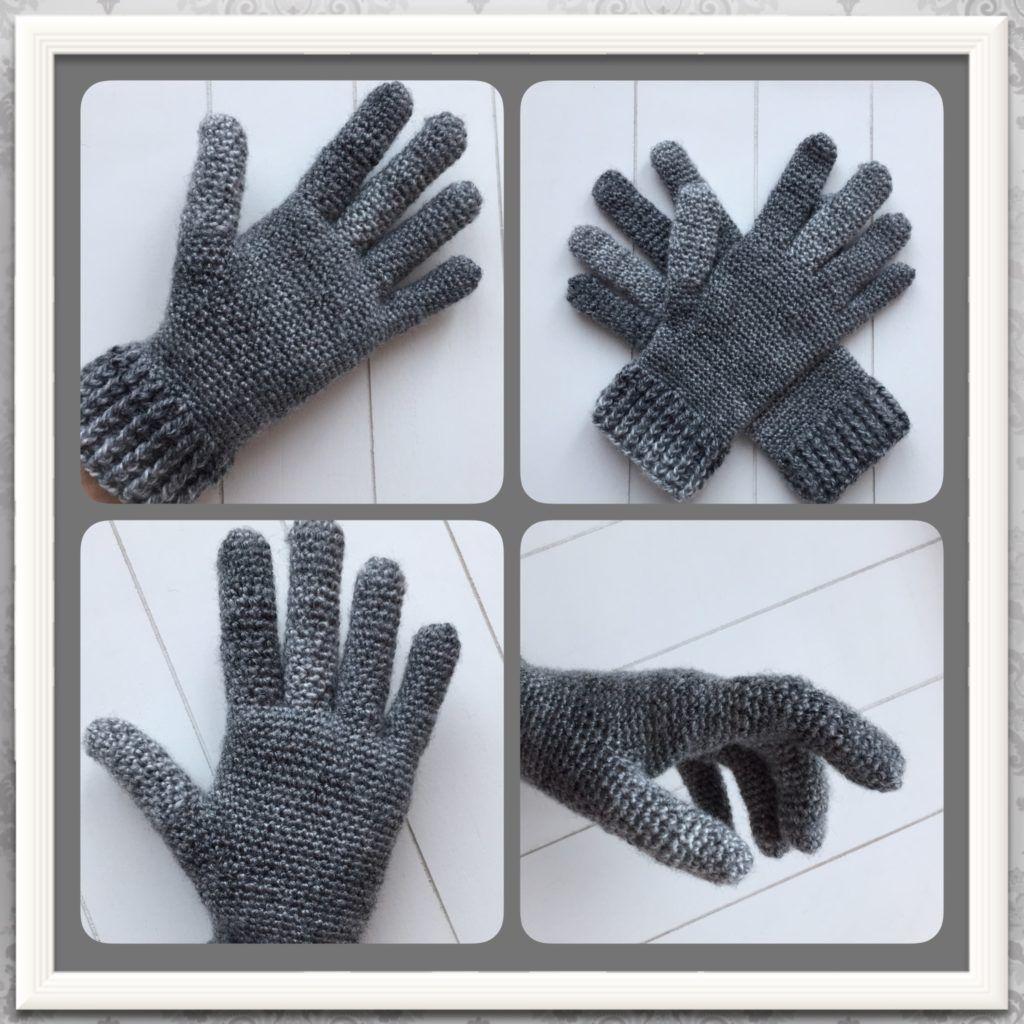 gratis haakpatroon handschoenen | haken | Pinterest