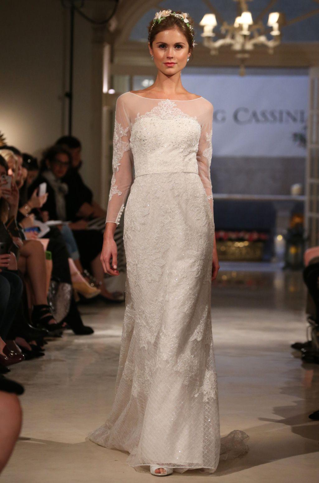 Oleg Cassini Bridal Fall 2016 (With images) Wedding