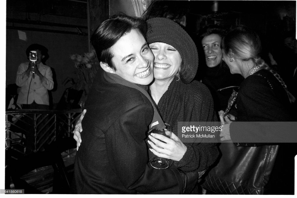 Tina Chow And Patti D Arbanville At The Andy Warhol Memorial
