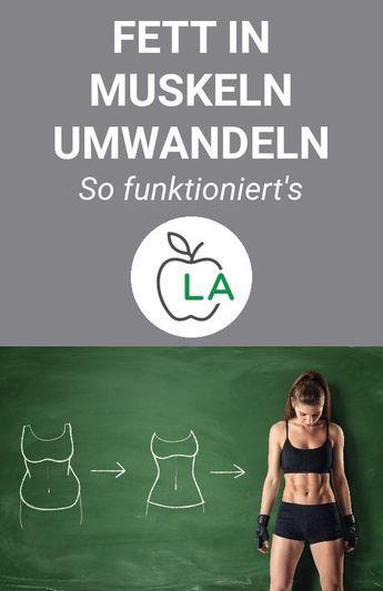 Photo of Kann man Fett in Muskeln umwandeln? Abnehmen und Muskeln aufbauen!