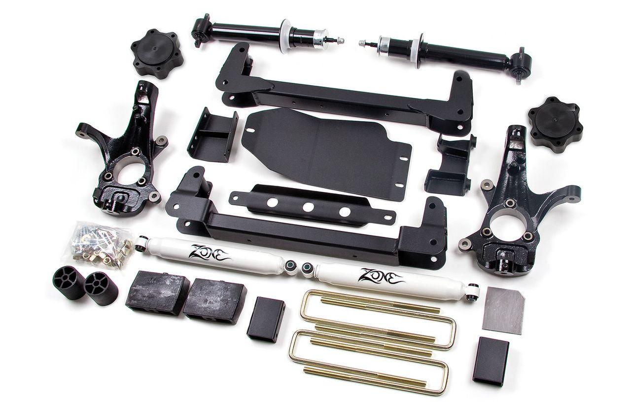 Zone offroad 61 2 suspension 13 silverado sierra 1500