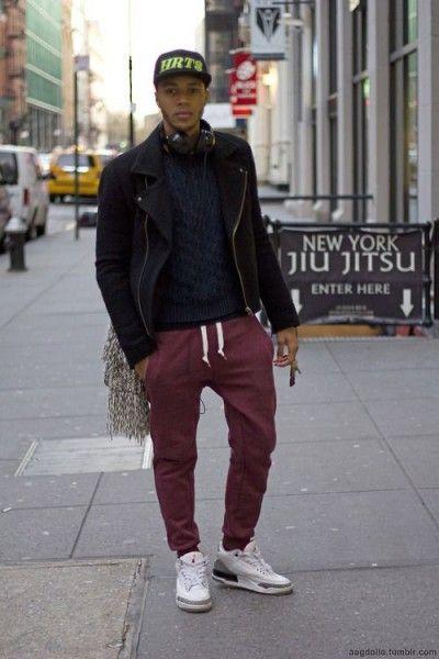 9c73d3d0 Men's Outfit with Jogger Pants- 30 Ways to Wear Jogger Pants   Men ...