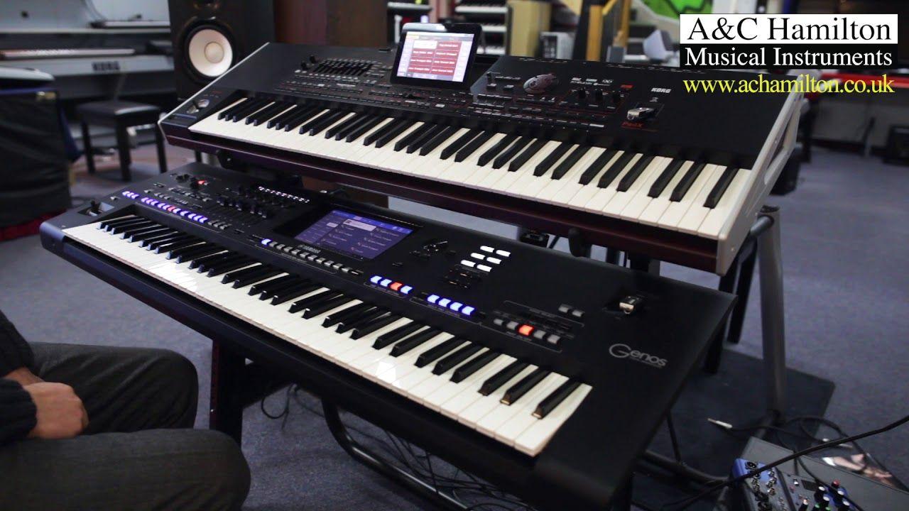 Yamaha Genos vs  Korg Pa4X – Sounds Comparison | modern synths