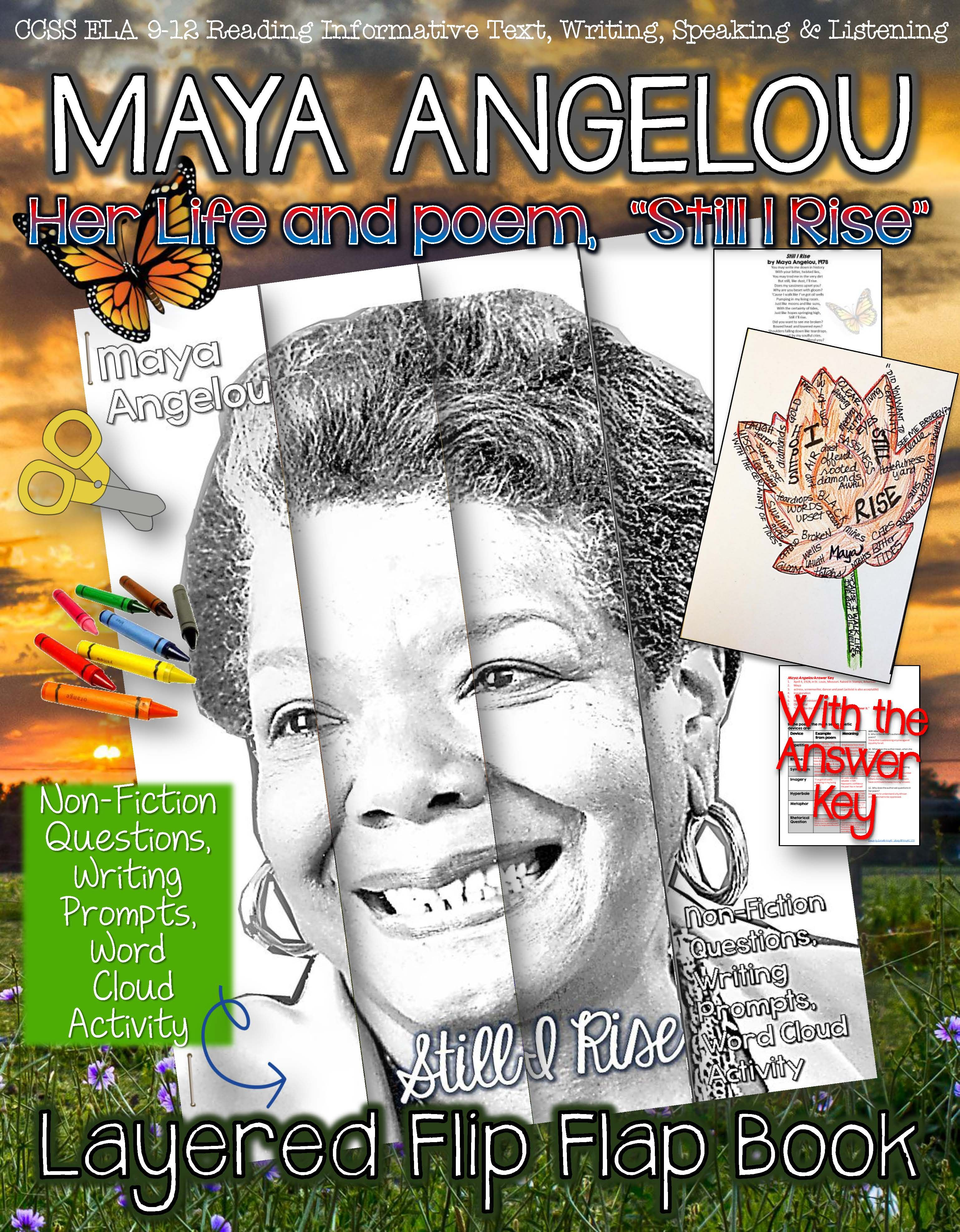 Maya Angelou Her Life And Poem Still I Rise Layered