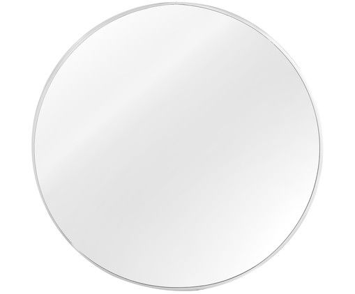 Wandspiegel Luna, Rahmen Silber Front Spiegelglas Home