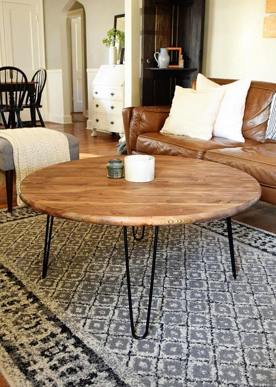 round wooden coffee table with black legs coffee table on stunning wooden metal coffee table id=22764