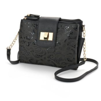 Kohls Apt. 9 Shira Cut-Out Crossbody Bag