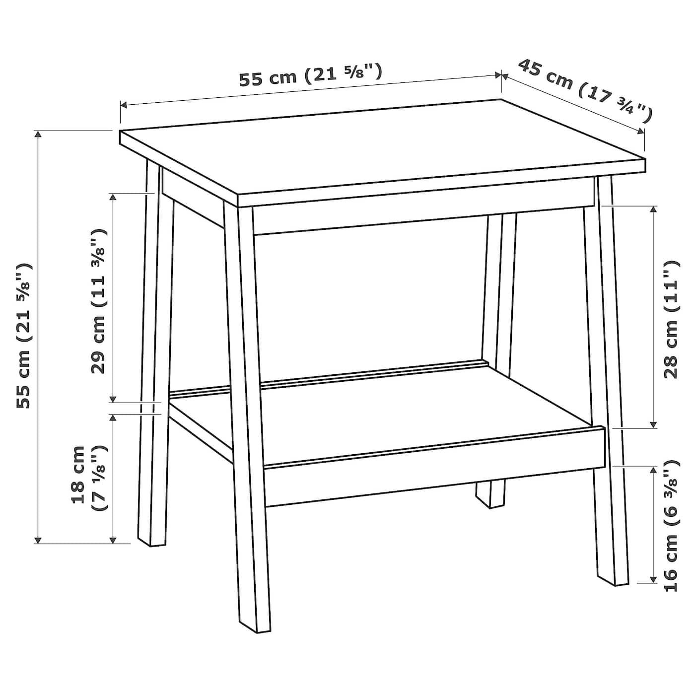 Lunnarp White Side Table 55x45 Cm Ikea Side Table White Side Tables Ikea Lack Coffee Table [ 1400 x 1400 Pixel ]