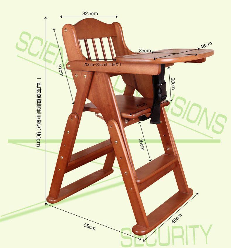 Resultado de imagen para silla comedor para bebe | Juegos de madera ...