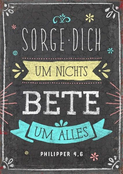 25 + › Postkarte – Für alles beten – Britta Behrendt