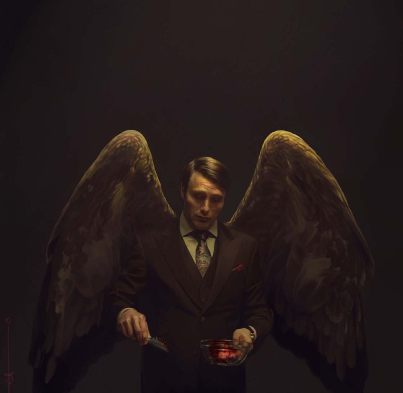 Pin by maff on Mads Mikkelsen♠️ | Hannibal series