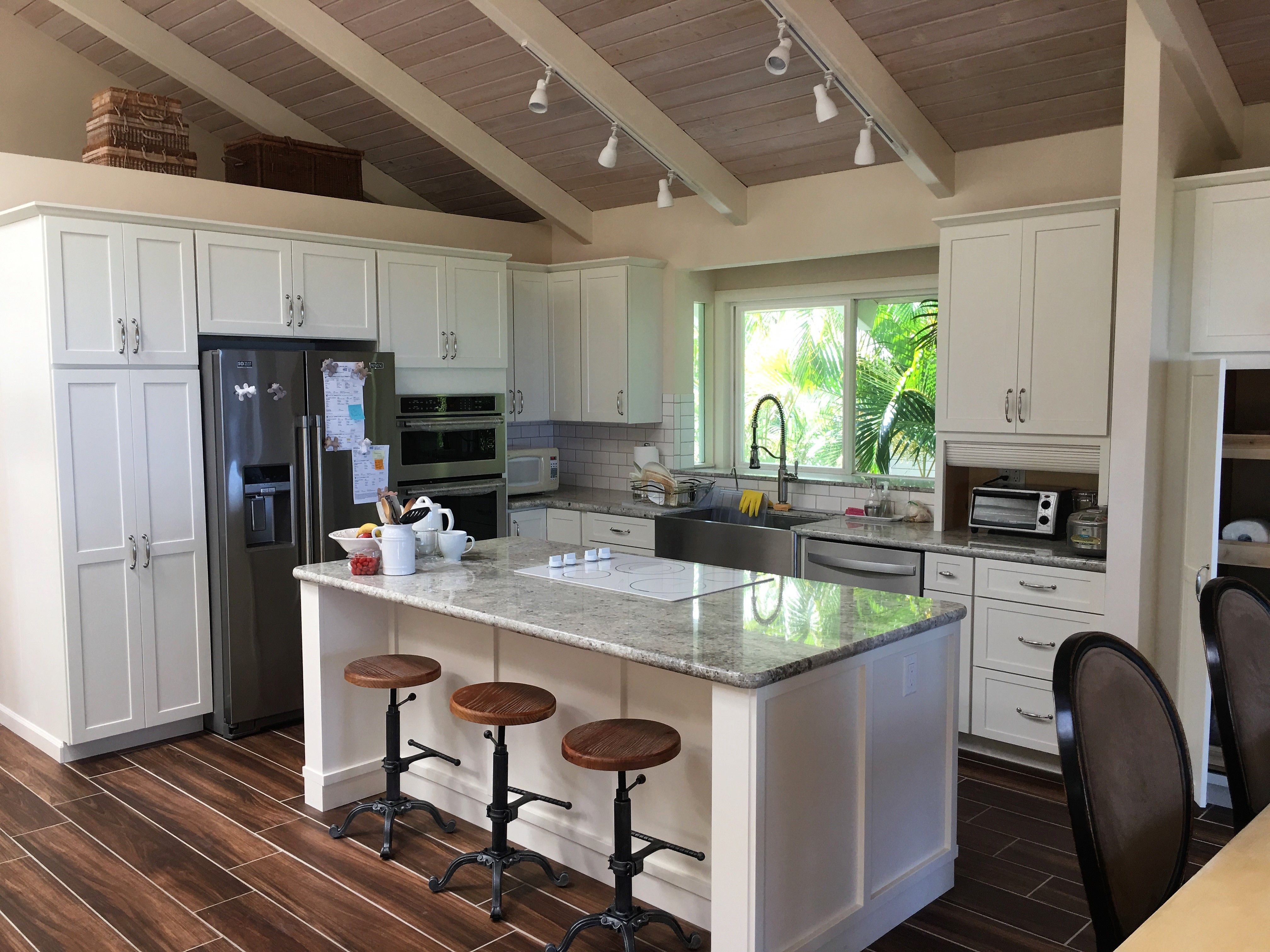 White Hawaii Kitchen Remodel Kitchen Cabinet Remodel Installing Cabinets Real Kitchen