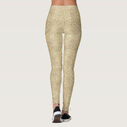 TanKnit Leggings - pattern sample design template diy cyo customize