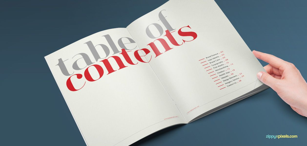 corporate identity guidelines template brand book brand book