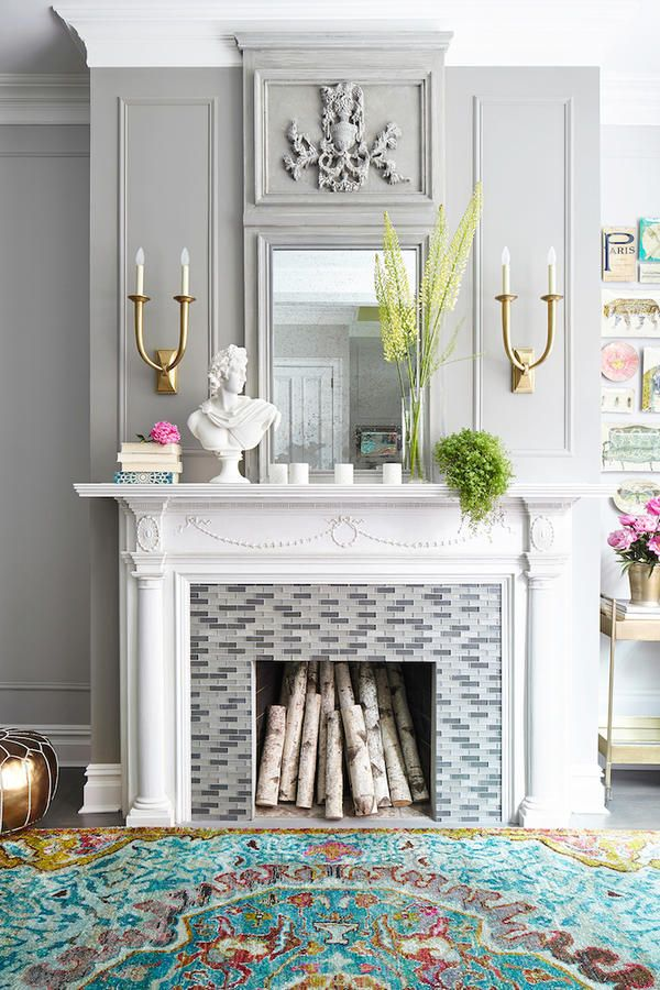 6 Instant Ways to Give Your Fireplace