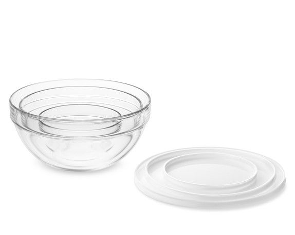 Glass Mixing Bowls With Lid Set Of 3 Everyone Needs A Mixing
