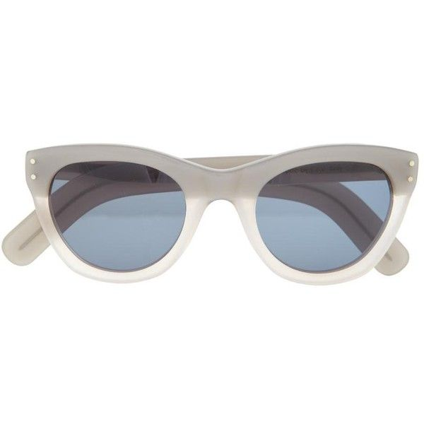 9ef5fac75d5 Cutler   Gross Sunglasses (£298) found on Polyvore. Round GlassRound  SunglassesEyewearCreate
