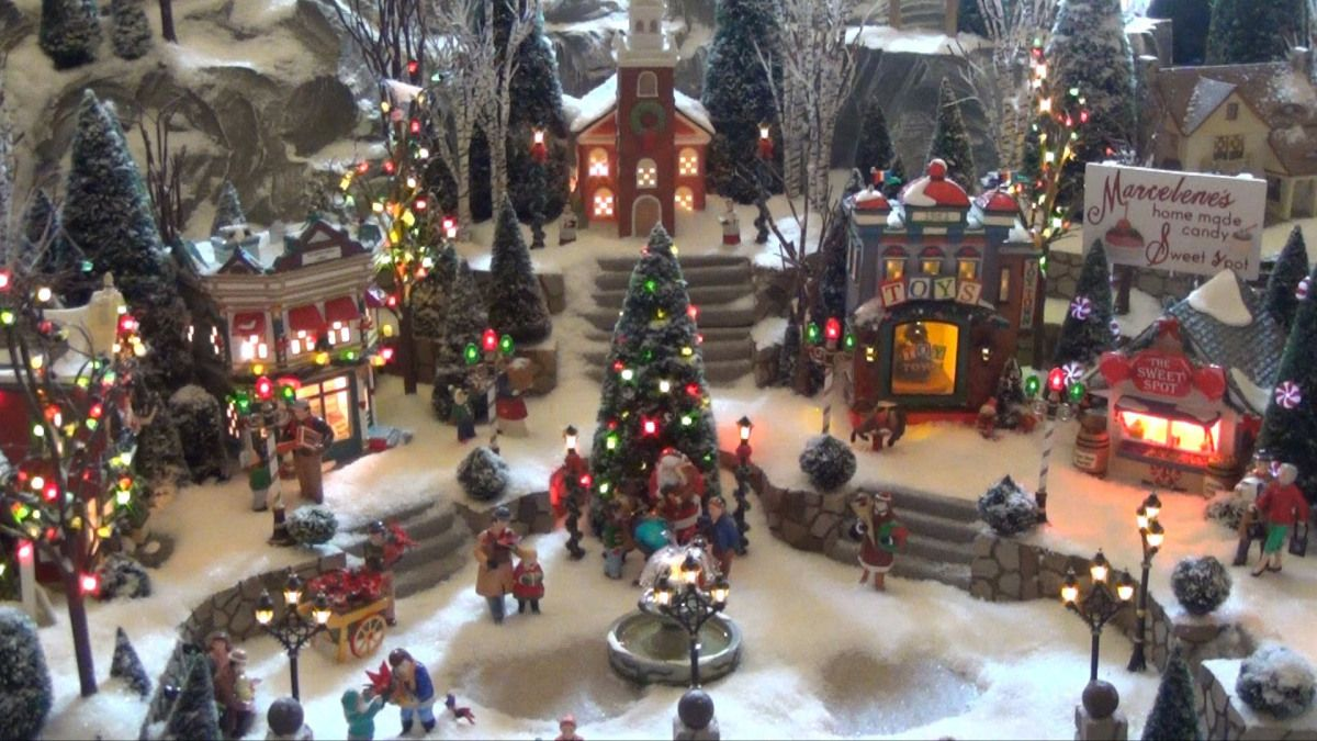 Image Result For Santas Christmas Village Display Ideas Christmas