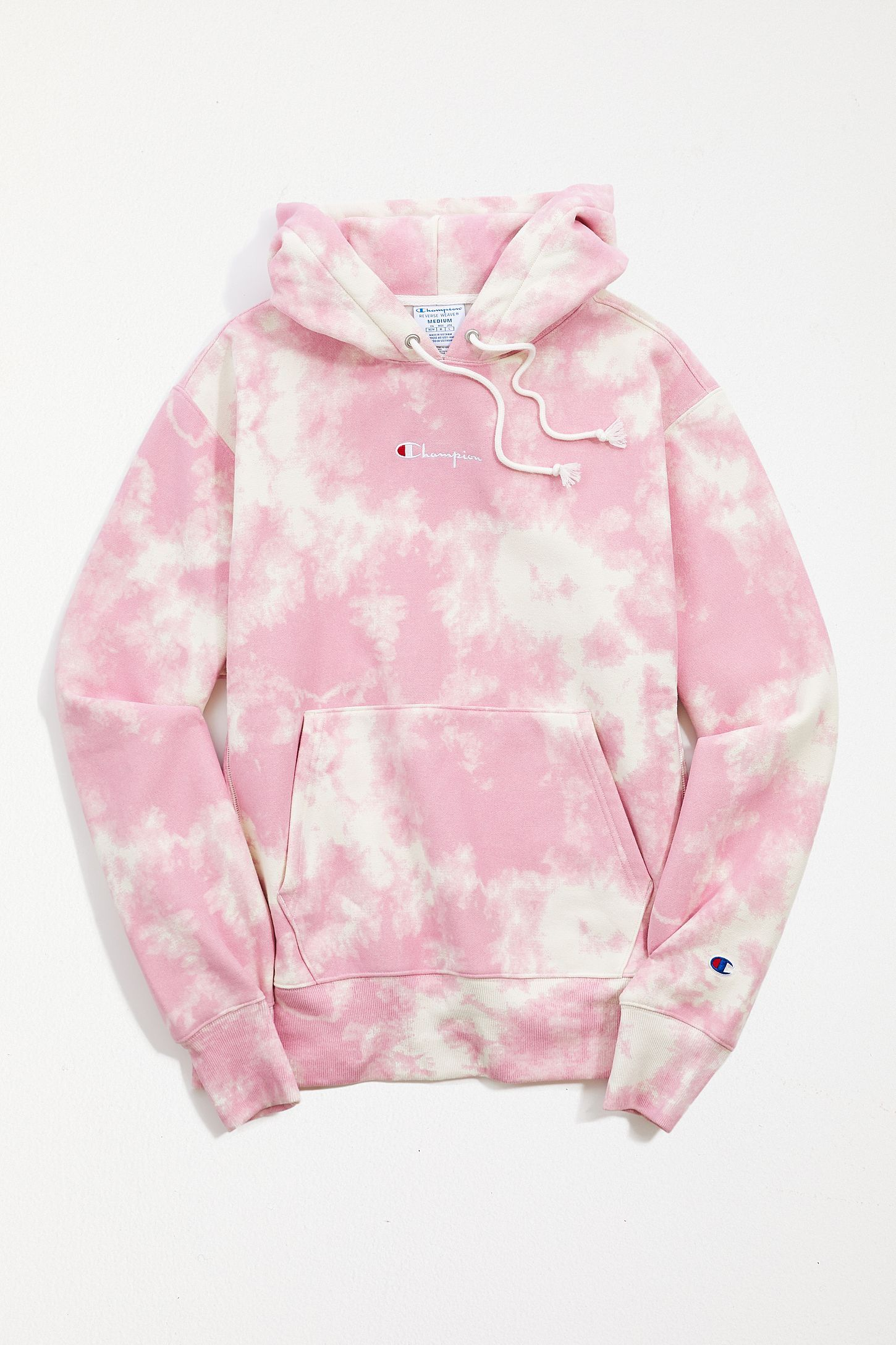 Champion UO Exclusive Tie-Dye Boyfriend Hoodie Sweatshirt