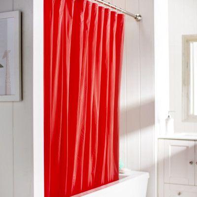 Wayfair Basics Wayfair Basics Vinyl Shower Curtain Liner Color