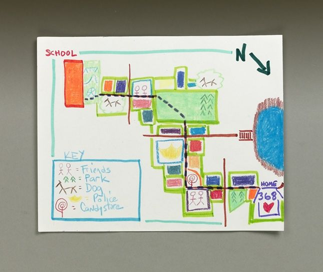 Whats The Route You Take To School Find Your Way By Creating A - Map your route