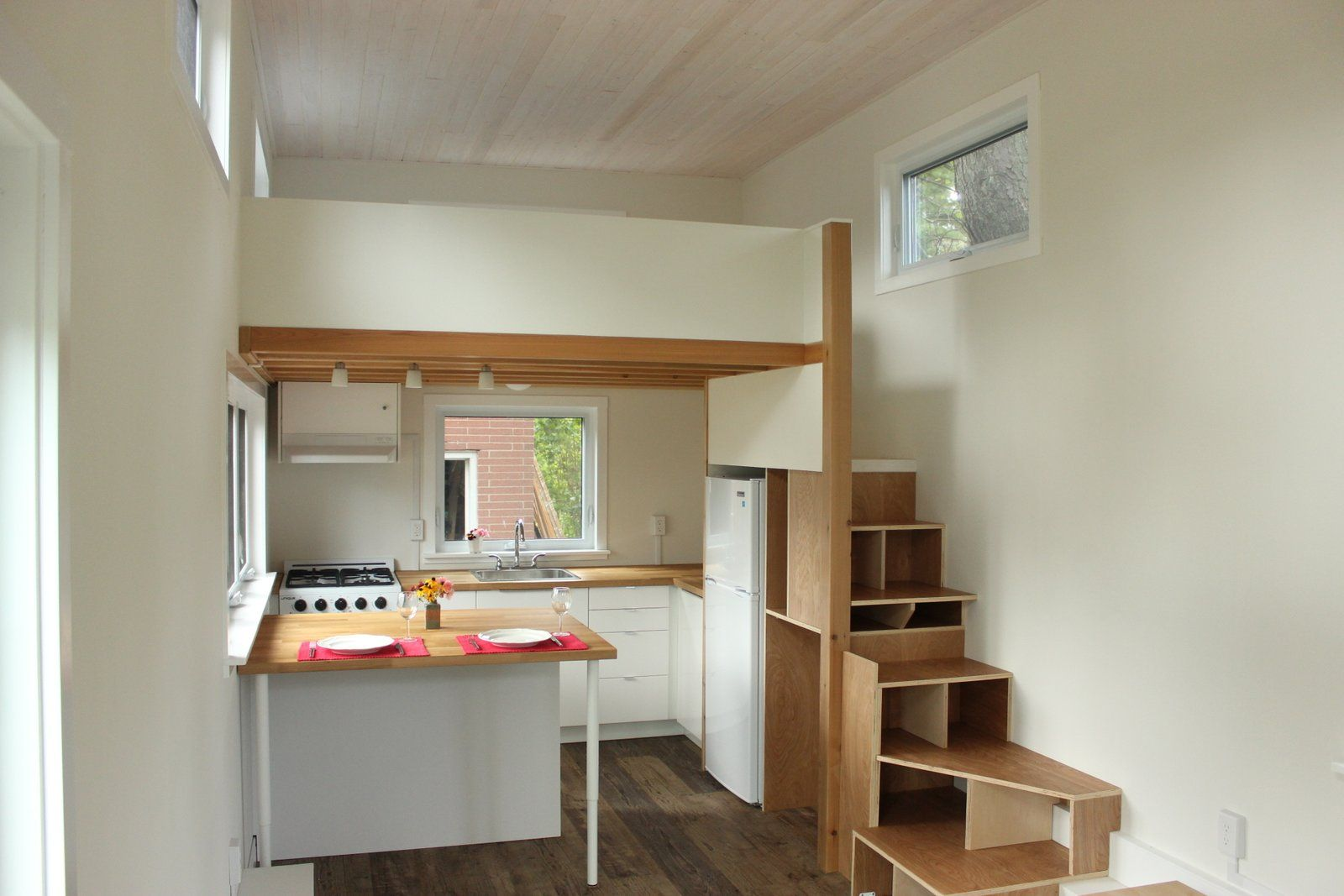 A Modern 390 Sq Ft Tiny House With Two Bedrooms Currently