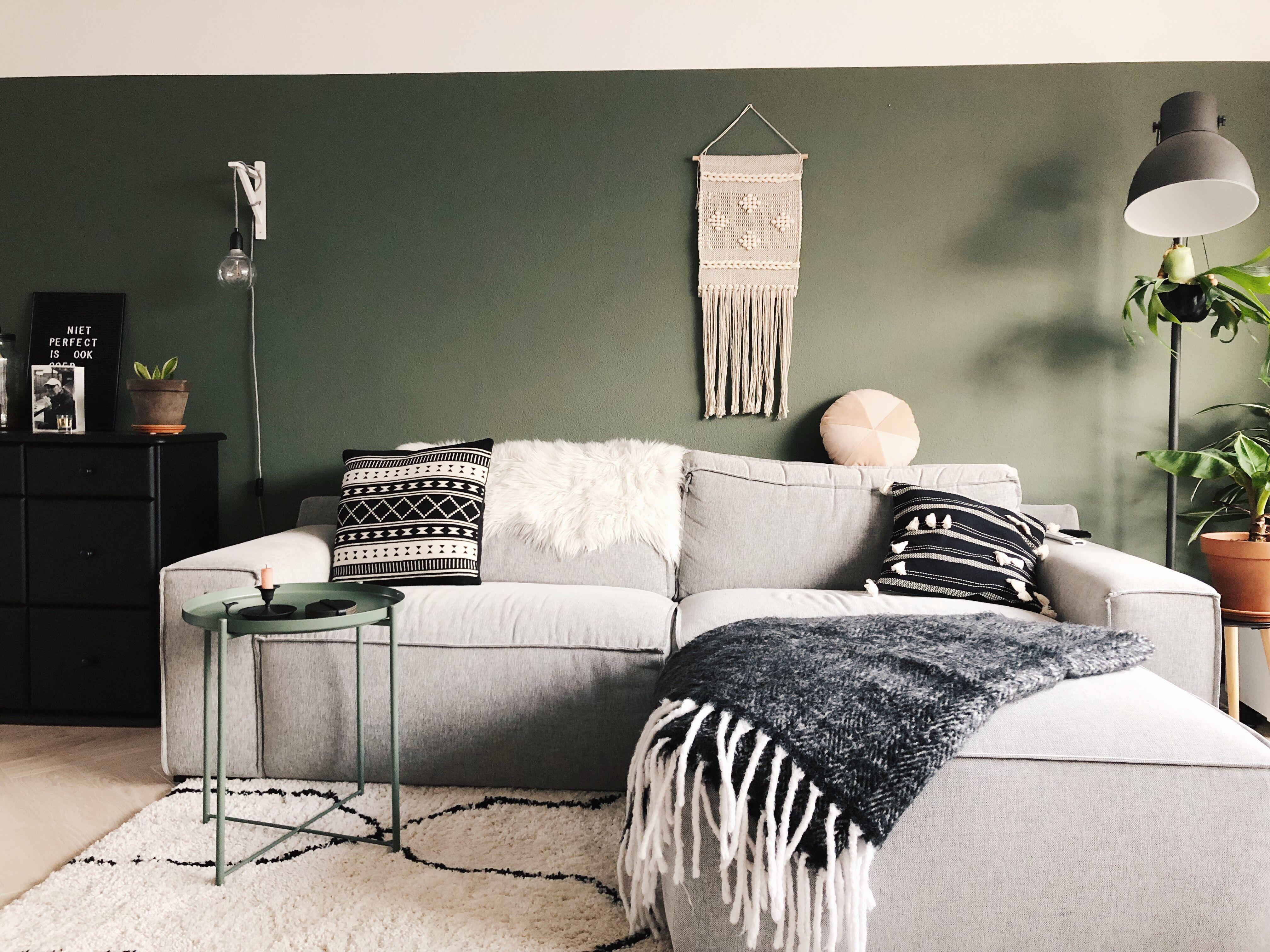 Over de groene muur en een verftrucje