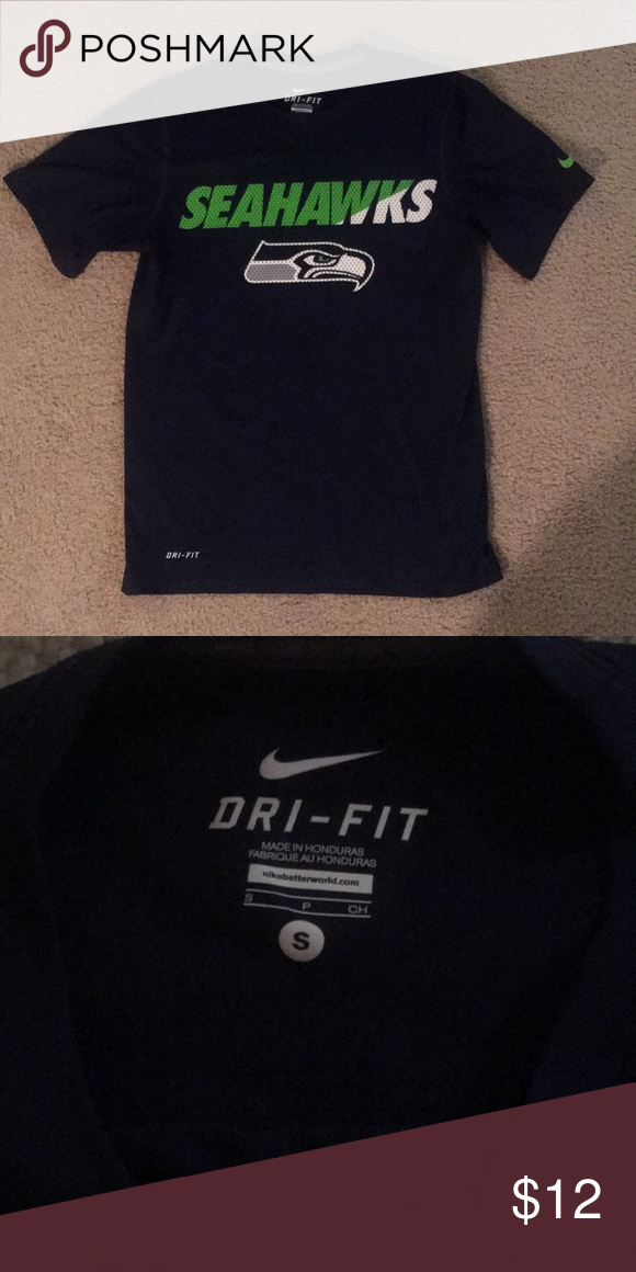Seahawks Nike dri-fit shirt Good condition 10ec4042a