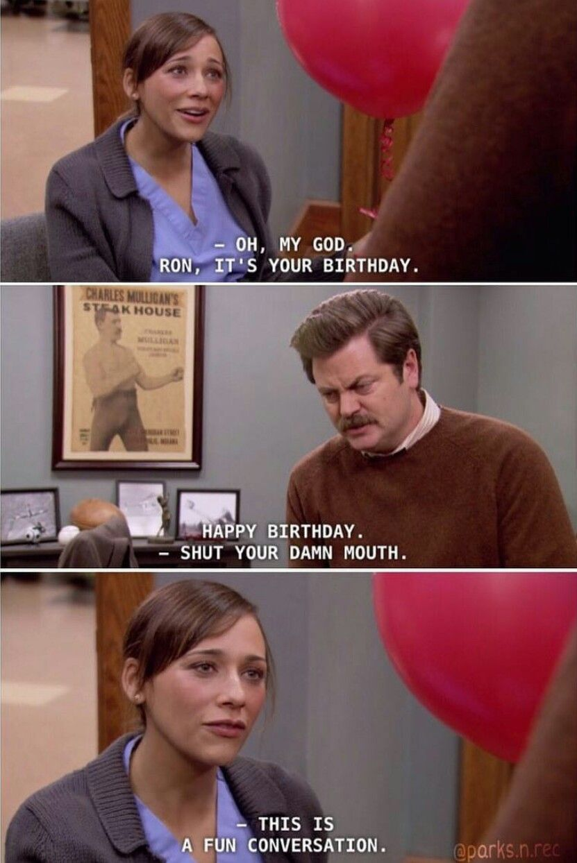 Ann Perkins Ron Swanson Parks And Recreation Parks And Recreation Parks And Rec Ron Parks N Rec