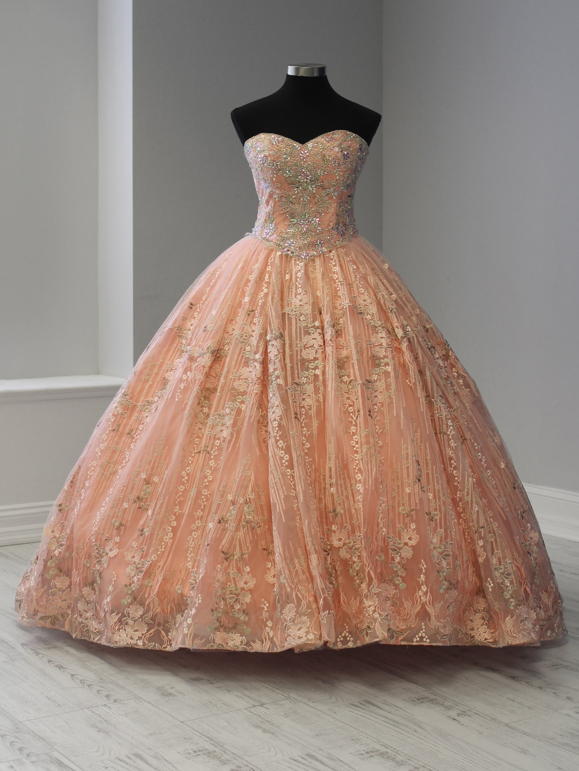8a2e6d7a3b0 Two-Piece Quinceanera Dress with Short Skirt by House of Wu 26920 in ...
