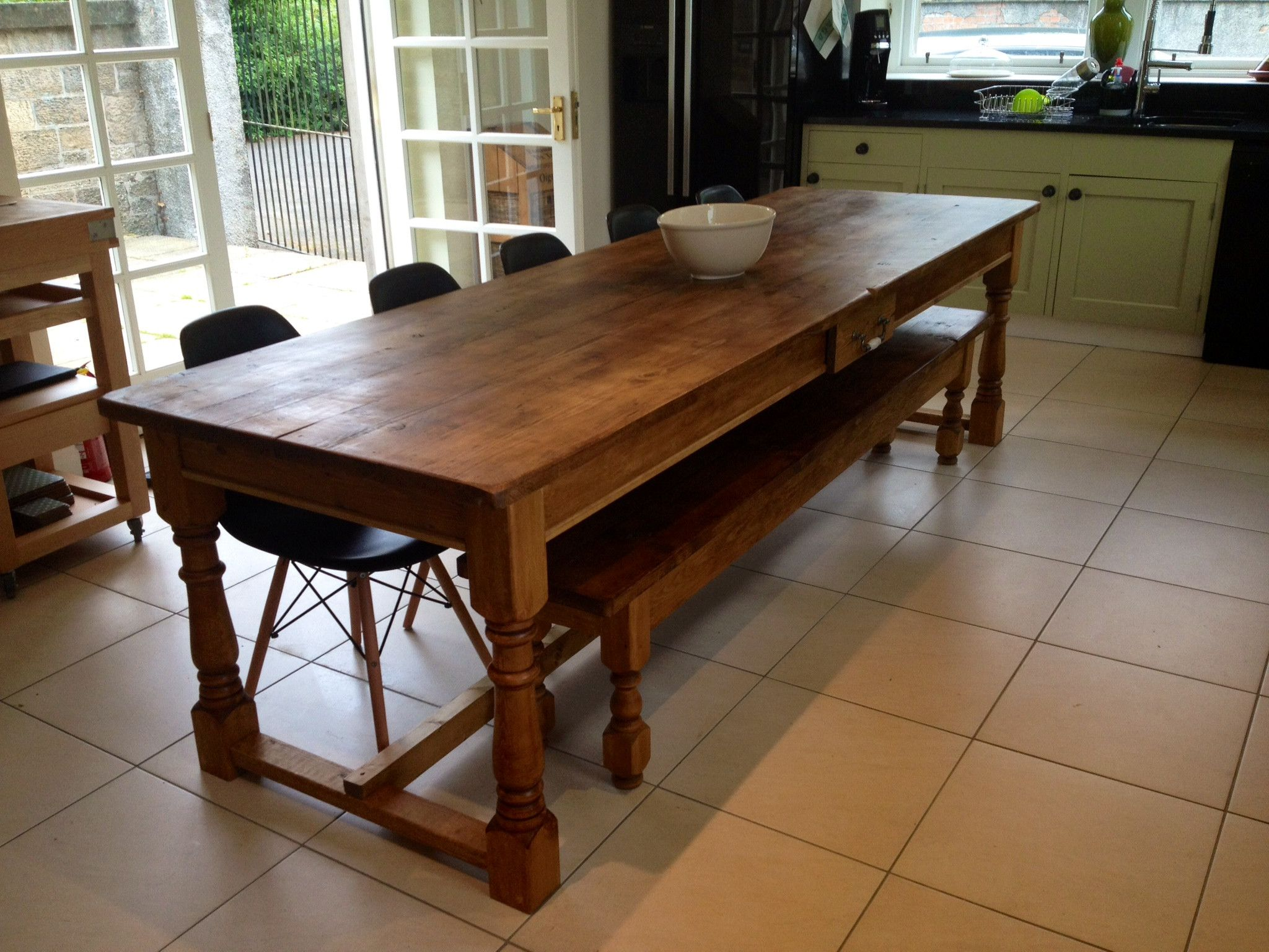 The Edinburgh Table OnlyRefectory Farmhouse Table Made From