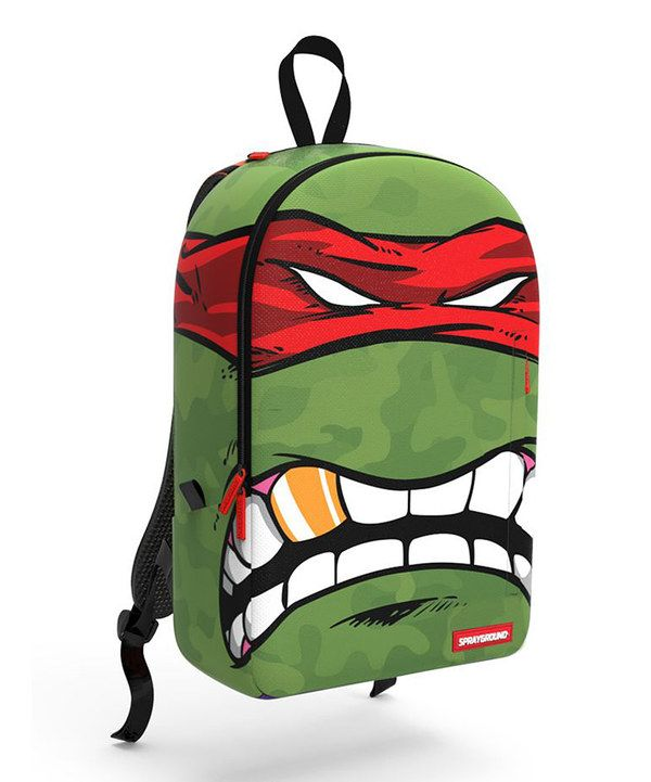 Look At This Sprayground Red Rafael Age Mutant Ninja Turtles Backpack On Zulily Today