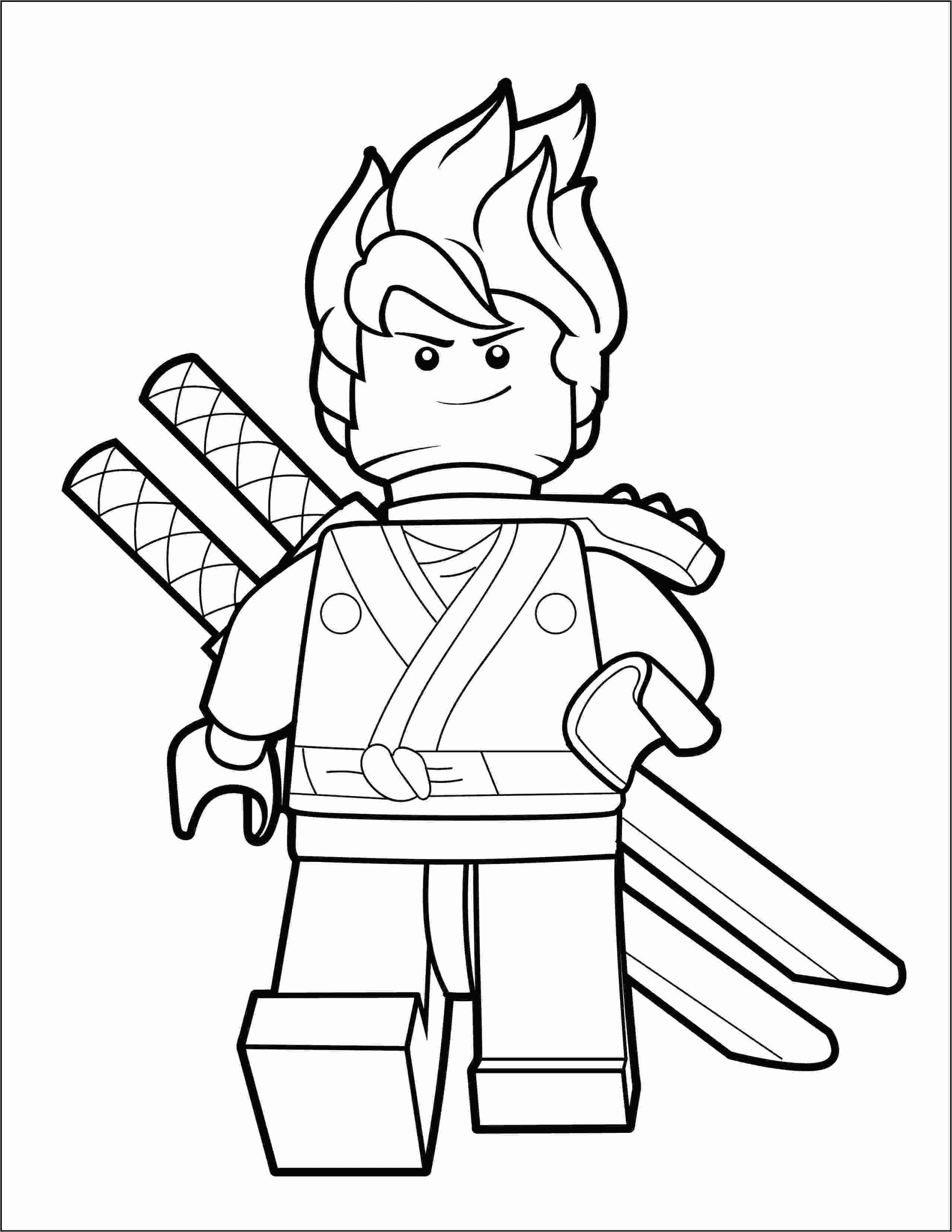 Coloring Page Ninja Jay True North Bricks Ninjago Coloring Pages Lego Coloring Pages Coloring Pages