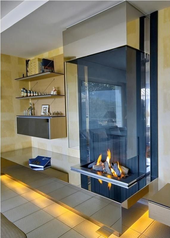 Love This Fireplace Freestanding Fireplace Modern Fireplace Home Fireplace